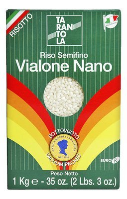 Рис виалоне нано (riso semifino vialone nano), вакуум 1кг/12