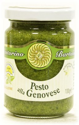 Песто генуэзское с олив.маслом (pesto alla genovese DOP) стекло 130г/12