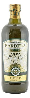 Масло оливковое э/в, БАРБЕРА (Filtrato, 100% Italiano), стекло, 1л
