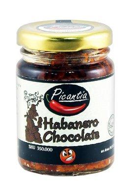 Паста из перца Хабанеро чоколате, ПИКАНТИА, стекло 90г