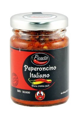 Паста из перца Пеперончино, ПИКАНТИА, стекло 90г