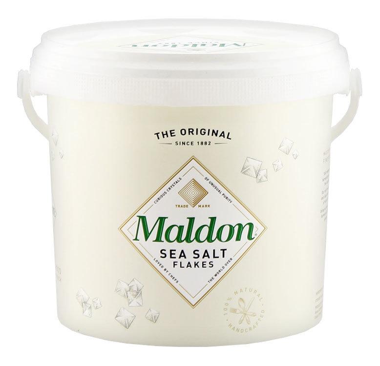 Приправа малдонская кристаллическая хлопьями МАЛДОН, ведро, 1,5кг