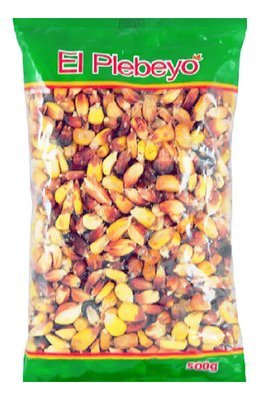Кукуруза сухая Ройо красное зерно, ЭЛЬ ПЛЕБЭО, пакет 500г/24