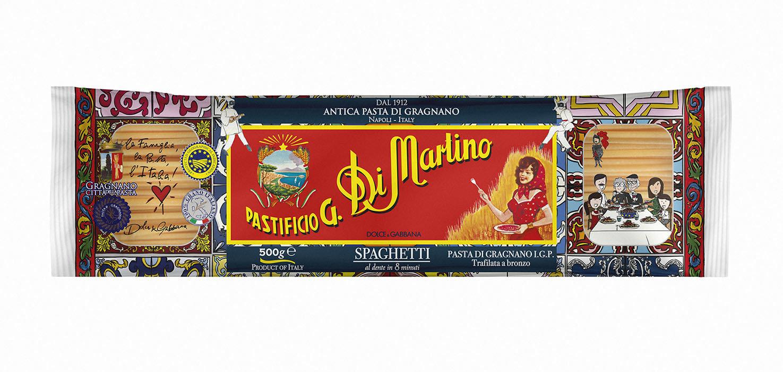 Макароны длинные Spaghetti 1,8мм, ДИ МАРТИНО D&G, 500г