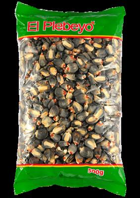 Кукуруза сухая Виллкапару черное зерно, ЭЛЬ ПЛЕБЭО, пакет 500г/24