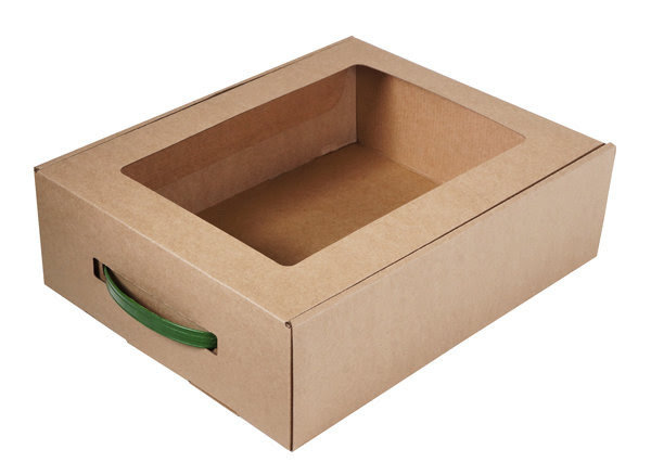 Подарочная упаковка (коробка с бумажным наполнителем)