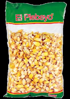 Кукуруза сухая Чулпи в зернах, ЭЛЬ ПЛЕБЭО, пакет 500г