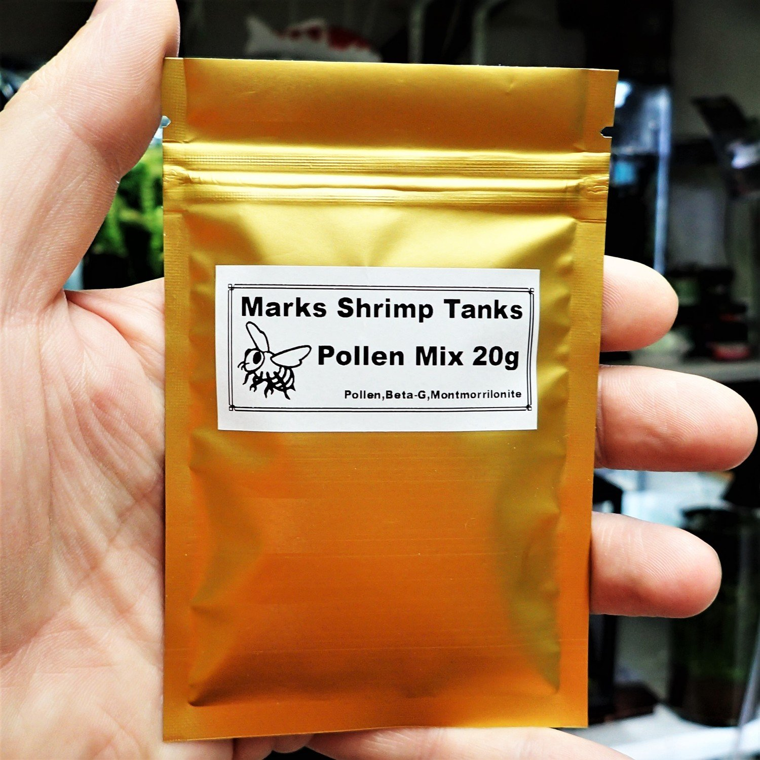 PollenMix Shrimp Food 40g bigger packet from 2019