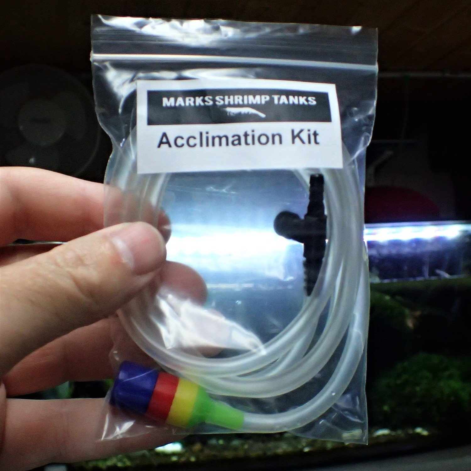Shrimp Drip Acclimation Kit
