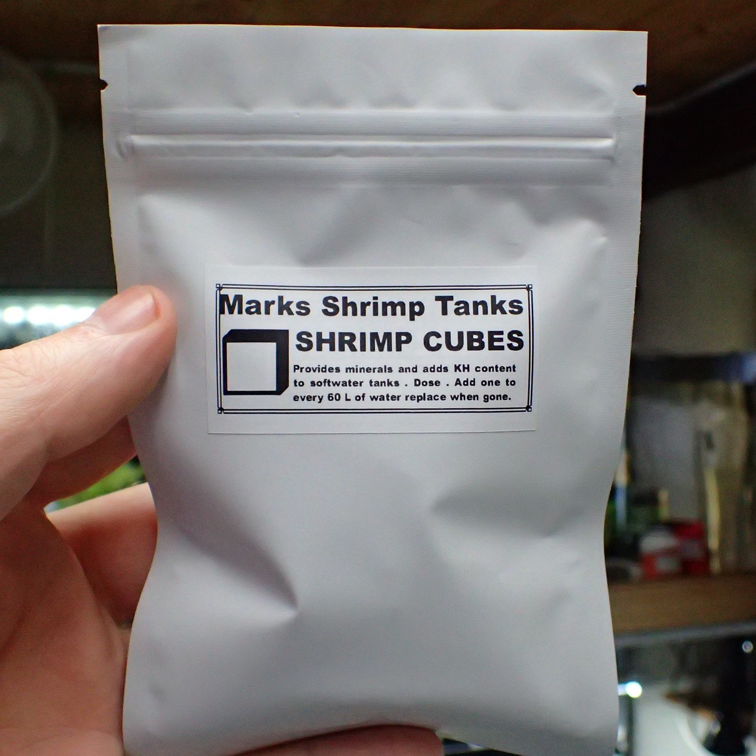 Shrimp N Snail Cubes 30 In a Pack