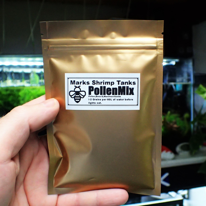 PollenMix Shrimp Food 40g bigger packet from 2019
