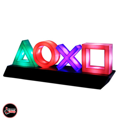 Lámpara PlayStation Iconos
