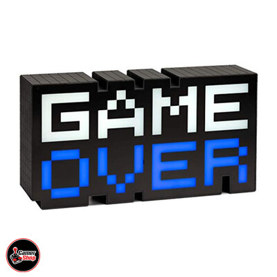 Lámpara Game Over