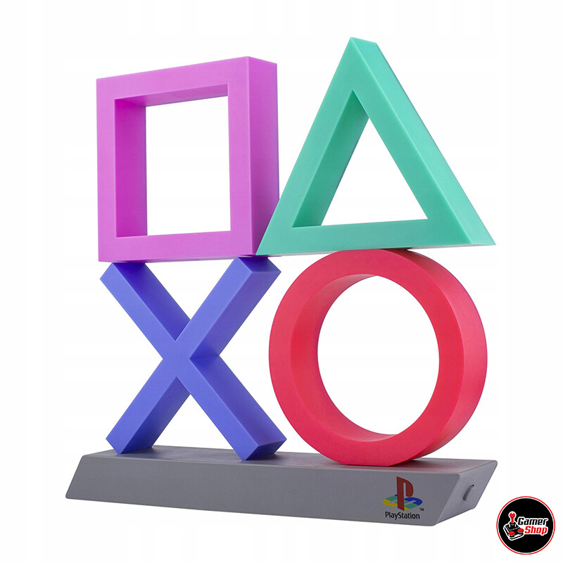 Lámpara PlayStation XL Iconos