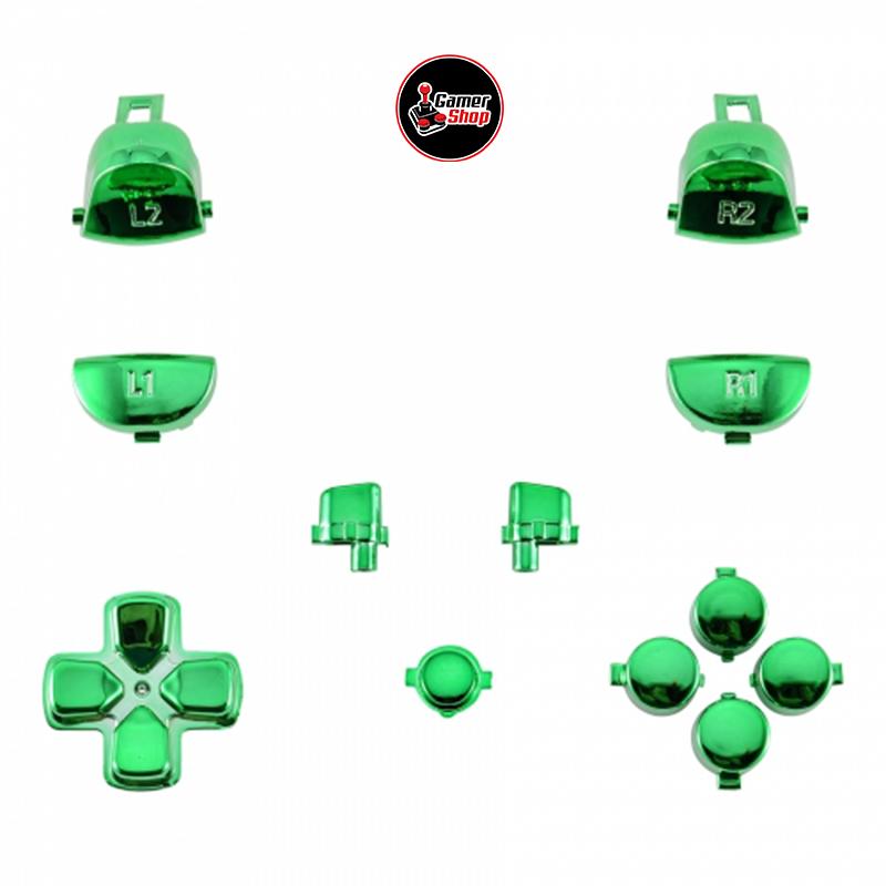 Kit de Botones Cromados