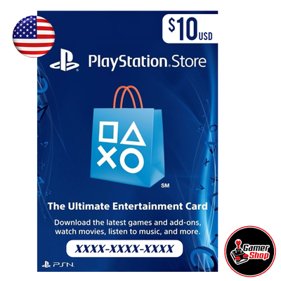 PSN Card (región USA)