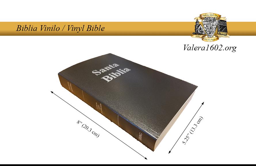 Biblia Vinilo / Vinyl Bible 07Valera