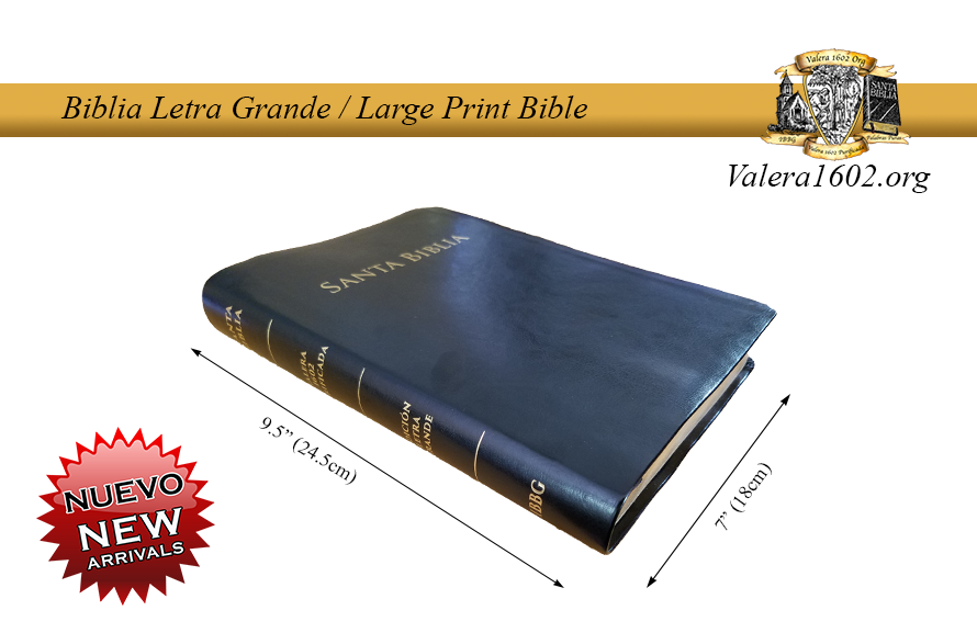 Letra Grande / Large Print 11Valera