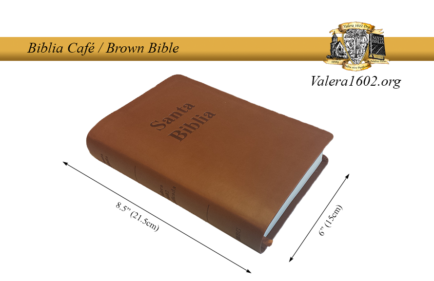 Biblia Café / Brown Bible 05Valera