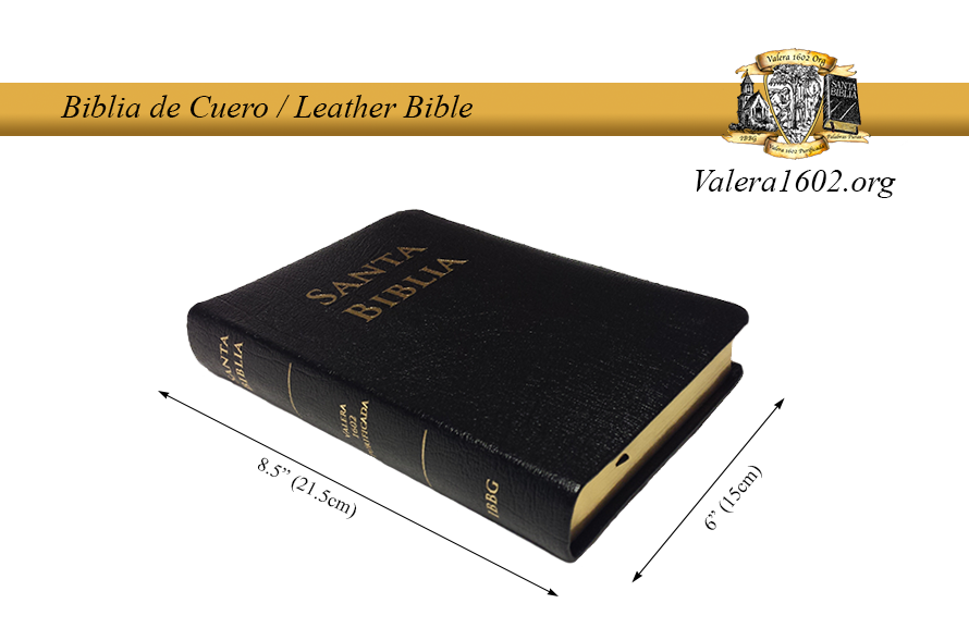 Biblia de Cuero / Leather Bible 02Valera