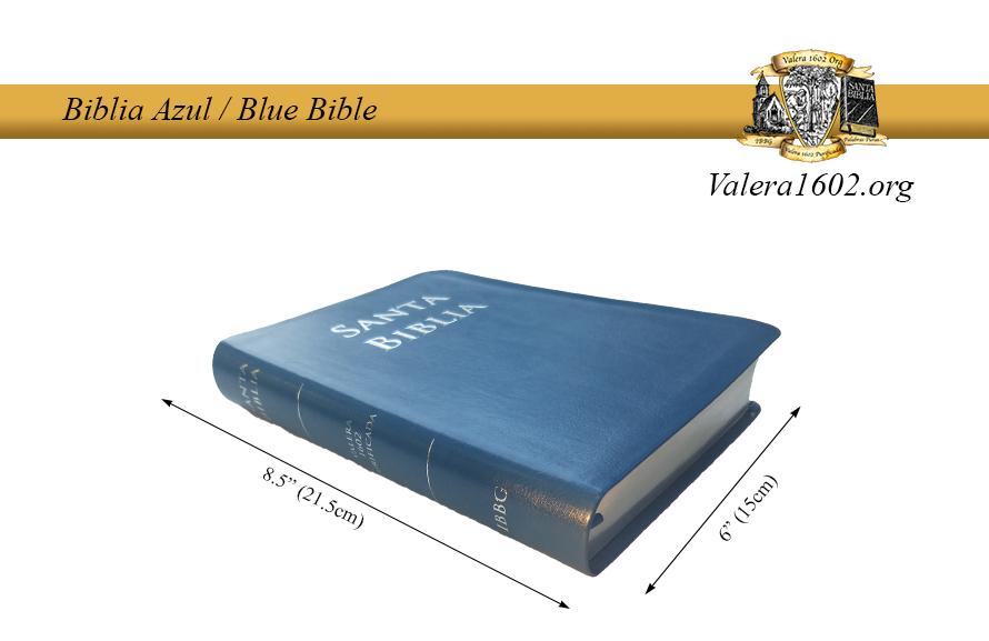 Biblia Azul / Blue Bible 03Valera