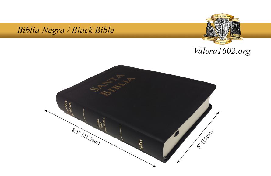 Biblia Negra / Black Bible 04Valera