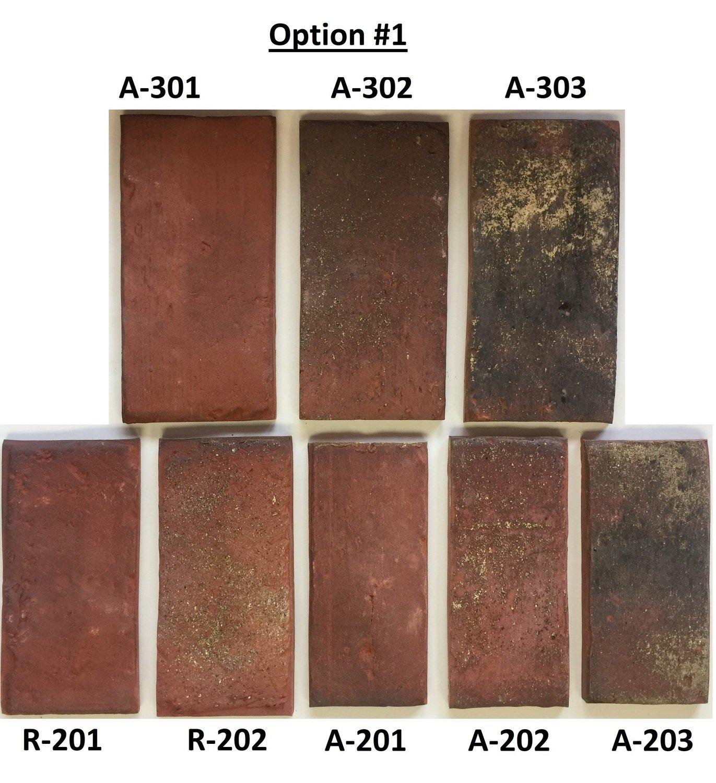Sample Option #1 - Flooring sizes - Mix of Antique & Rustic