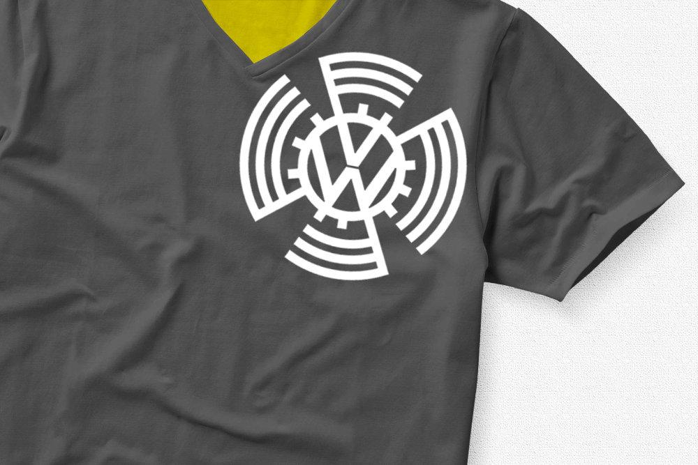 VW 1937 Badge VW Badge 1937 TShirt Shoulder