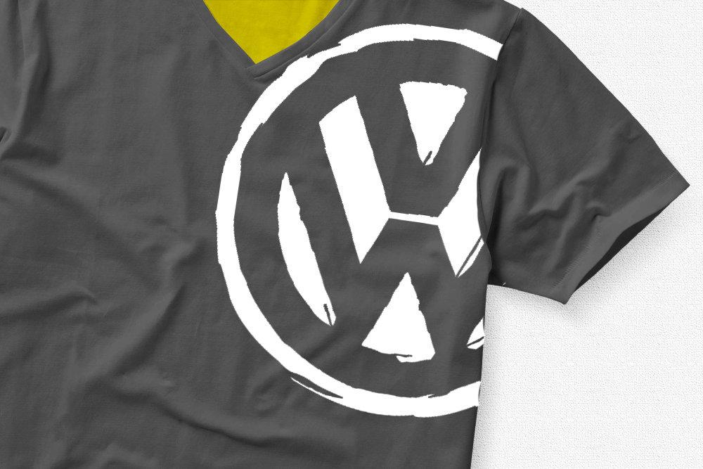 VW Badge Large Shoulder VW Badge Big Shoulder