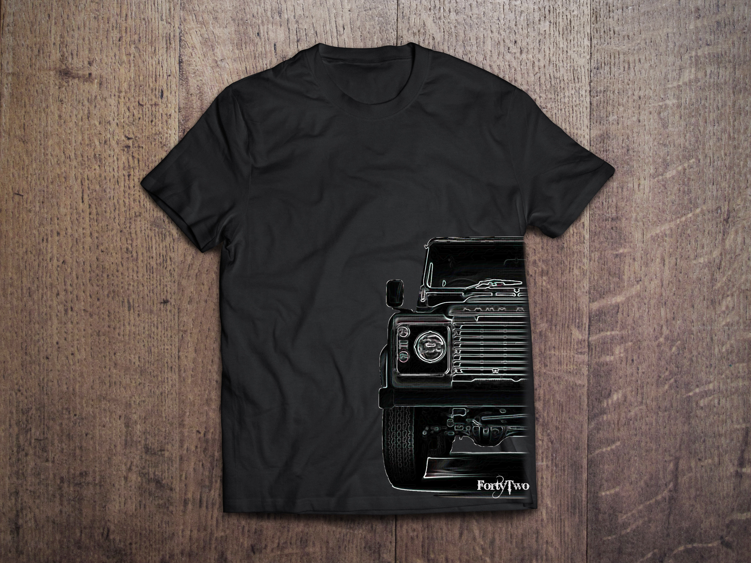 Landrover Landrover Half Shirt