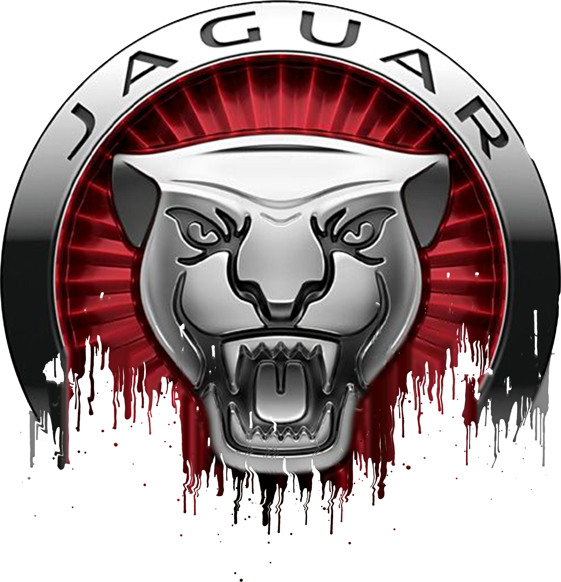 Jaguar Badge Liquid Metal