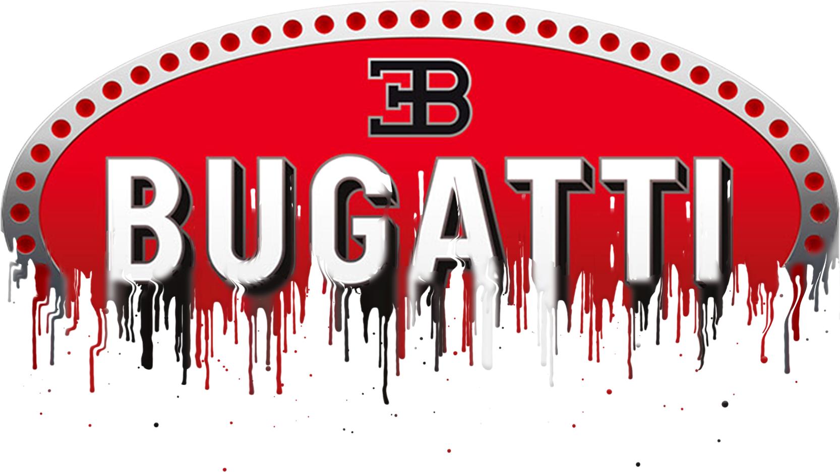 Bugatti Badge Liquid Metal