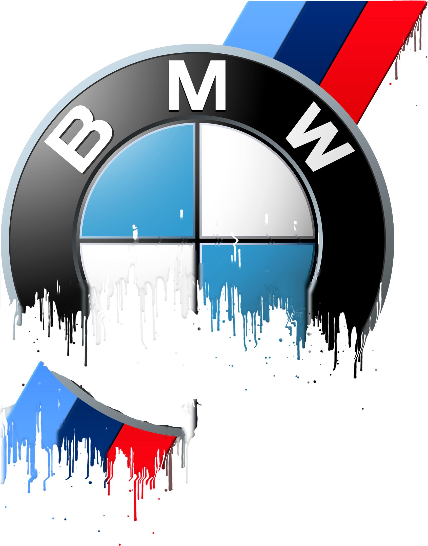BMW Badge Liquid Metal