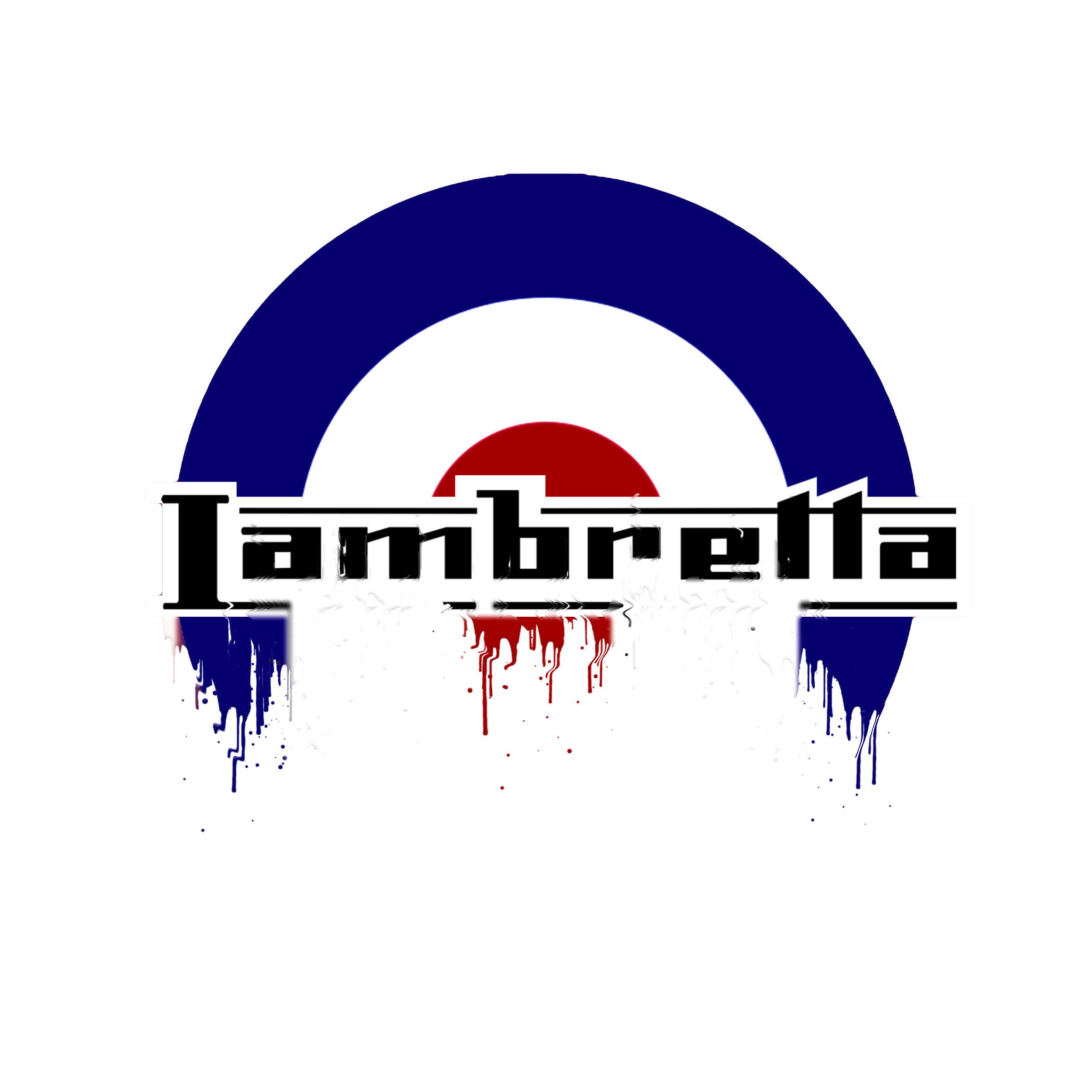 Lambretta Badge Liquid Metal