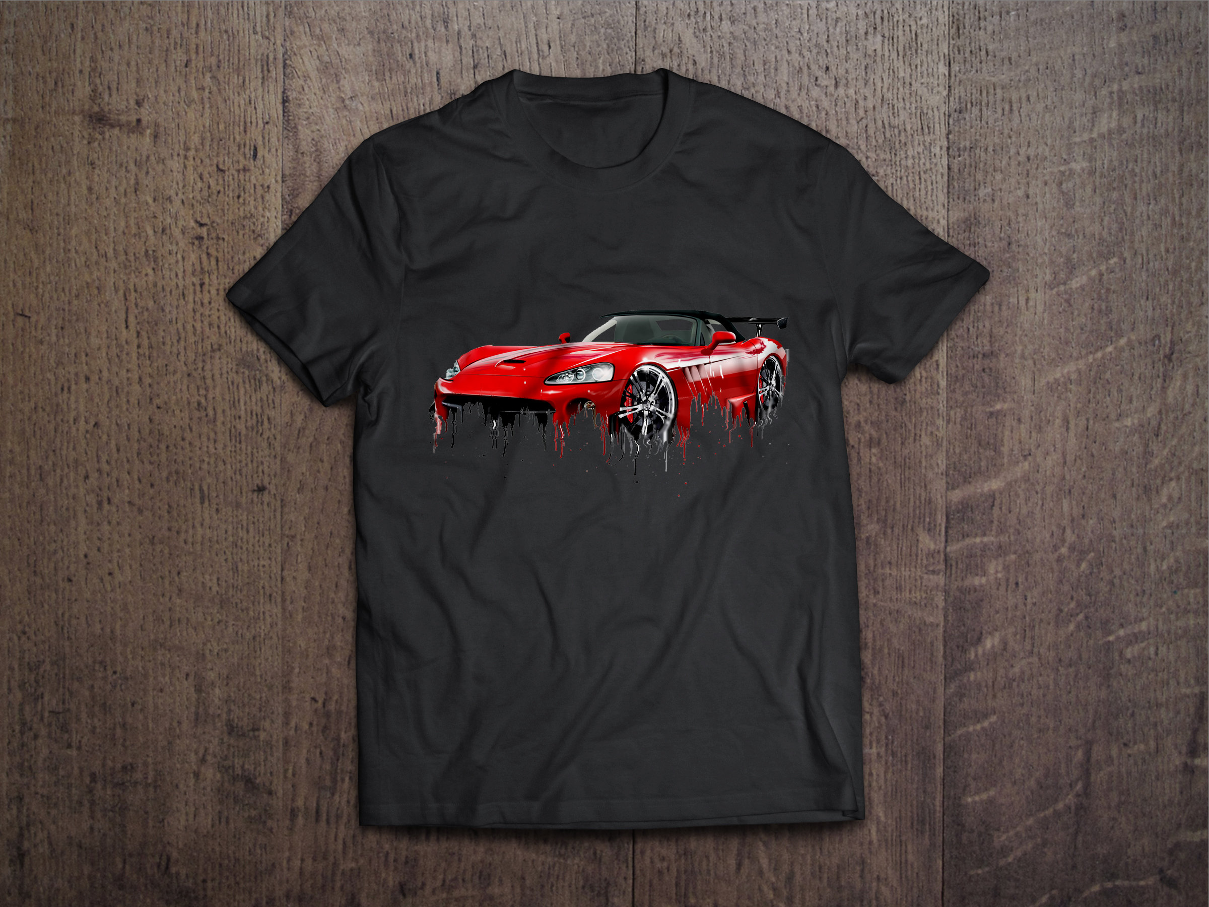 Dodge Viper Liquid Metal Dodge Liquid Metal Viper Tshirt