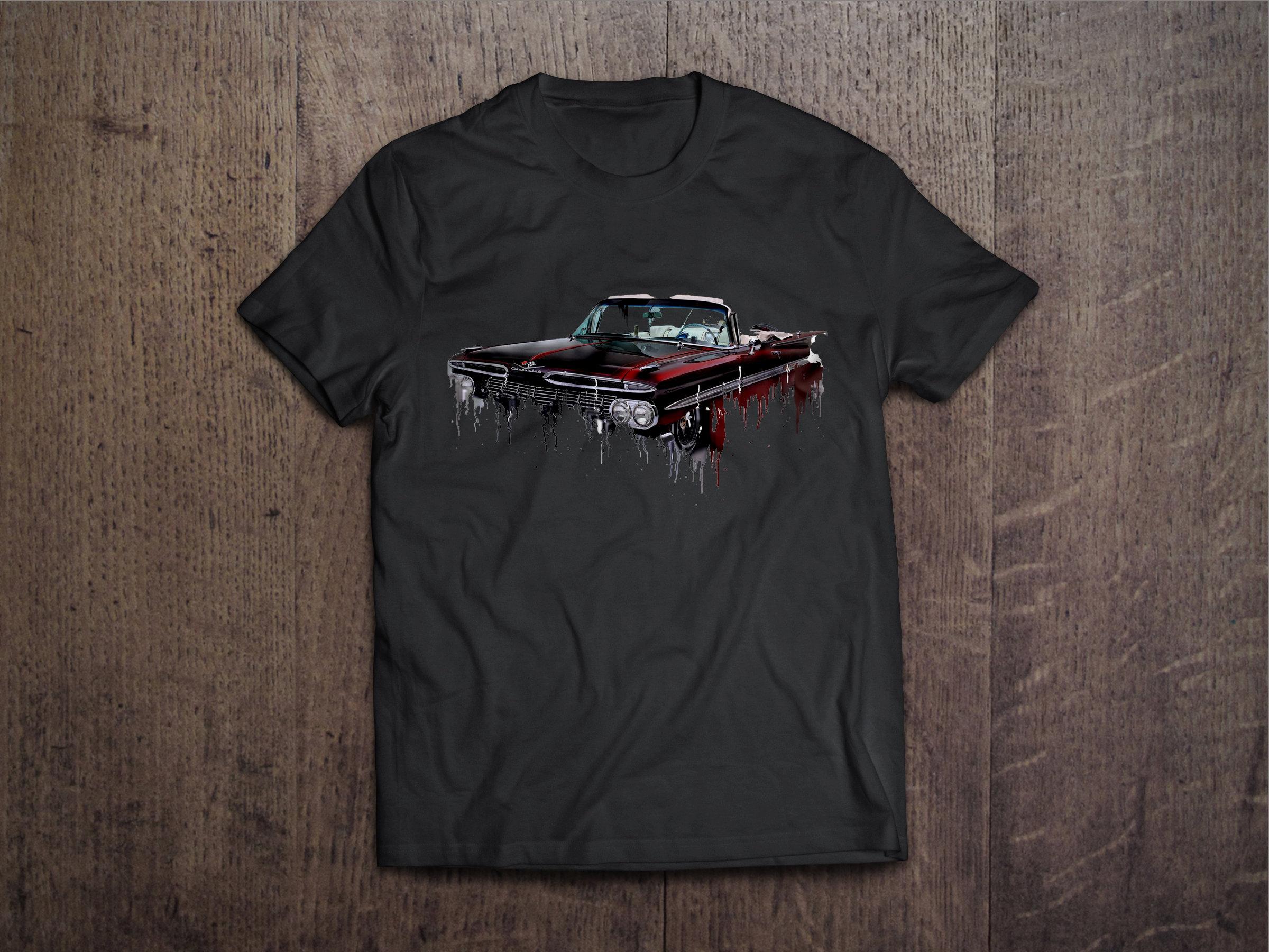 Chevrolet Impala Liquid Metal Chevrolet Liquid Metal Impala Tshirt