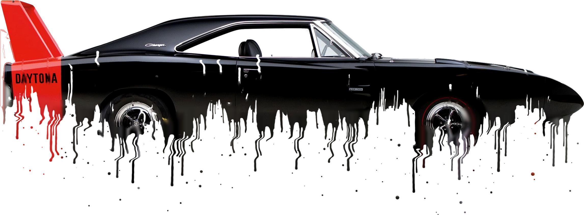 Dodge Charger Liquid Metal