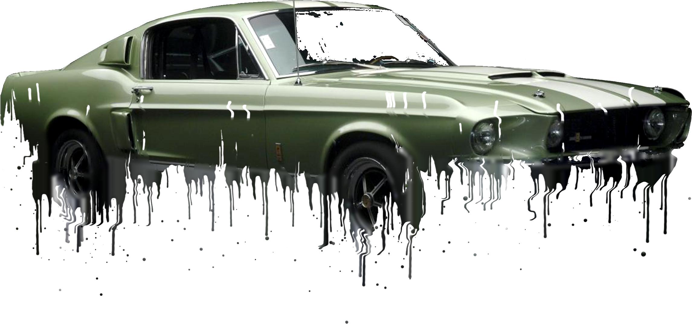 Shelby Mustang Liquid Metal