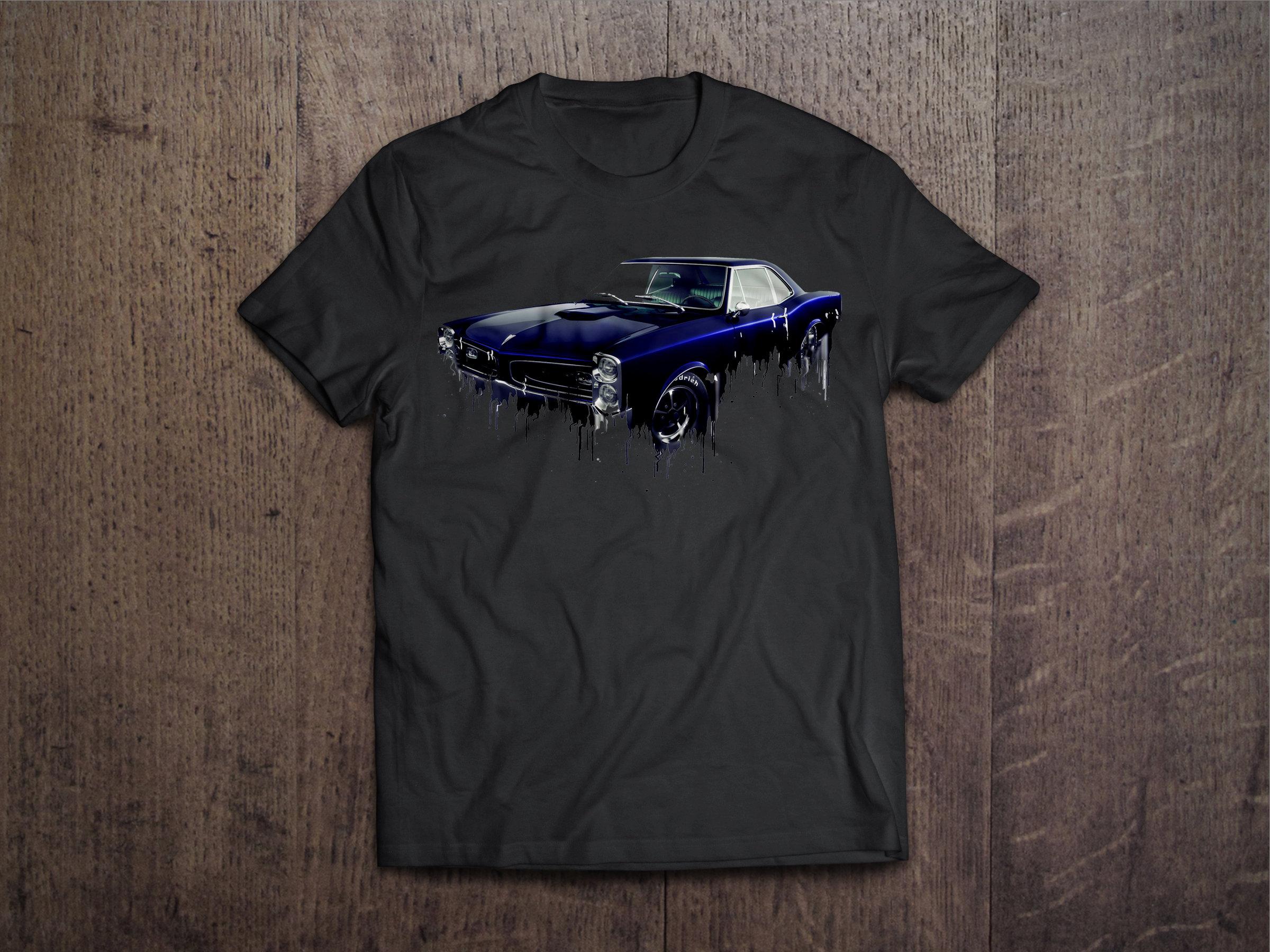Pontiac GTO Liquid Metal Pontiac Liquid Metal GTO Tshirt