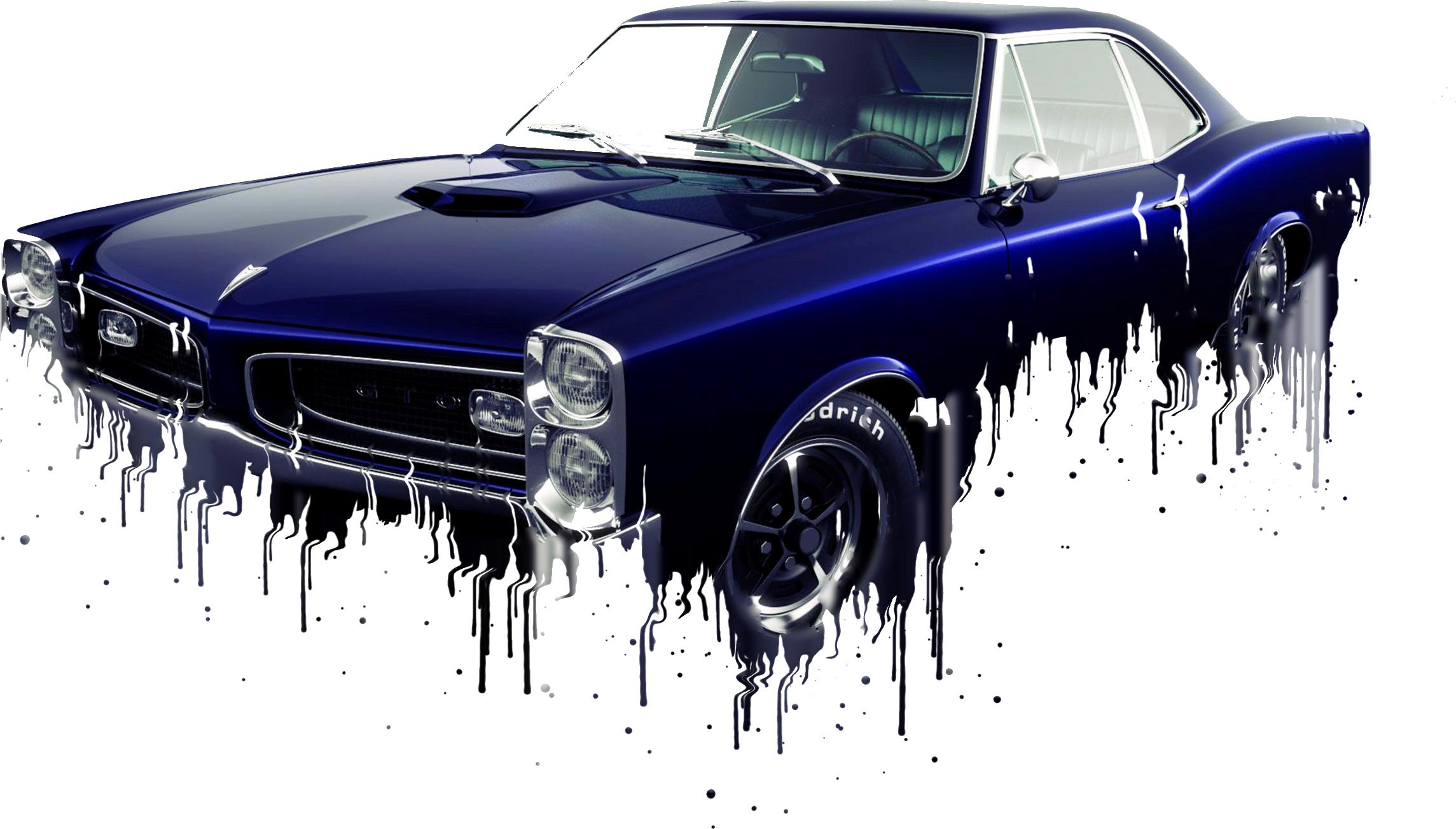 Pontiac GTO Liquid Metal