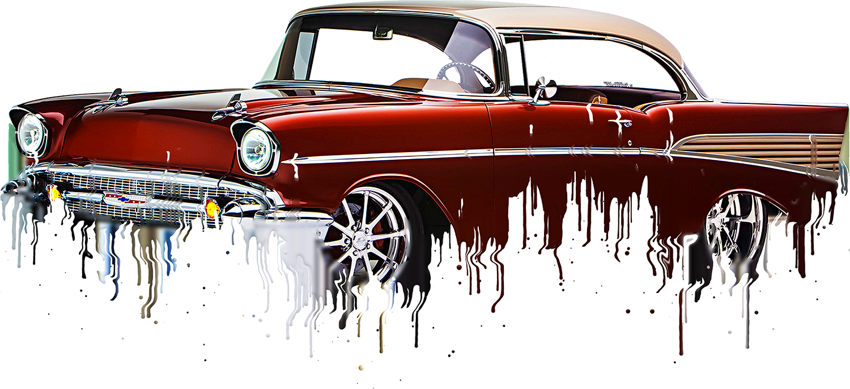Chevrolet Bel Air 1957 Liquid Metal