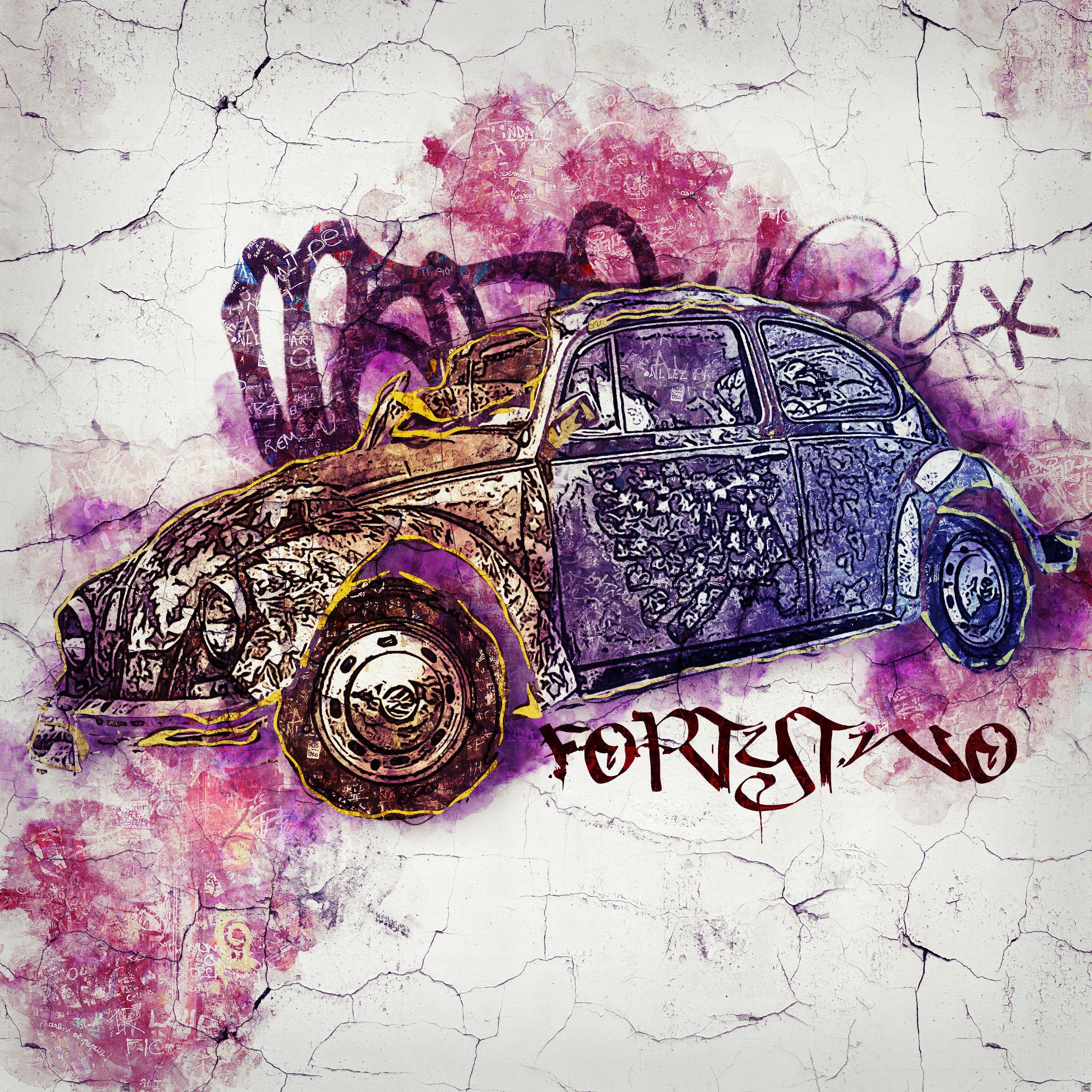 VW Beetle Street Art