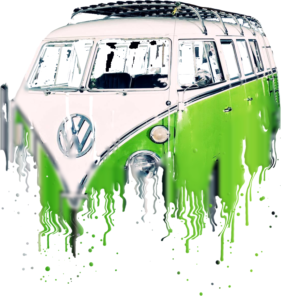 VW Samba Liquid Metal
