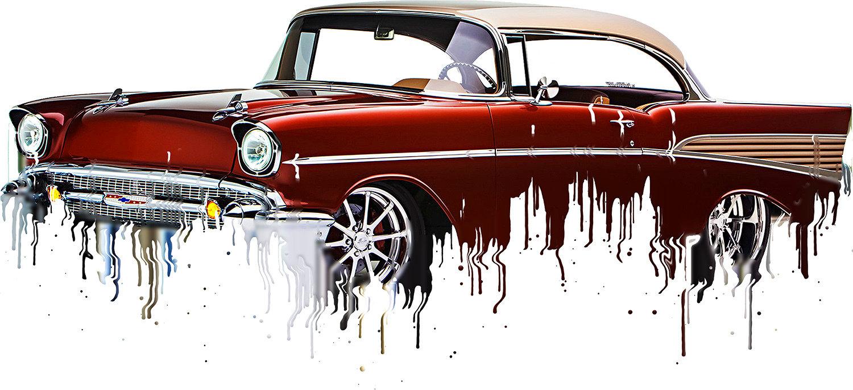 Chevrolet Bel Air Liquid Metal