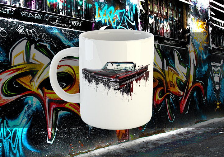 Chevrolet Impala Liquid Metal Chevrolet Impala Liquid Metal Mug
