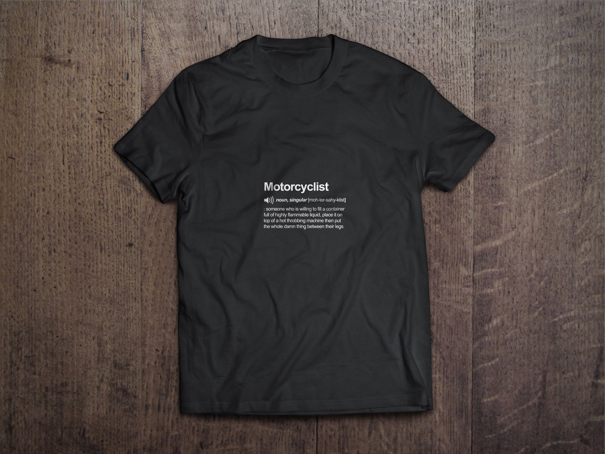 Motorcyclist Definition Chest Candy Motorcyclist Tshirt