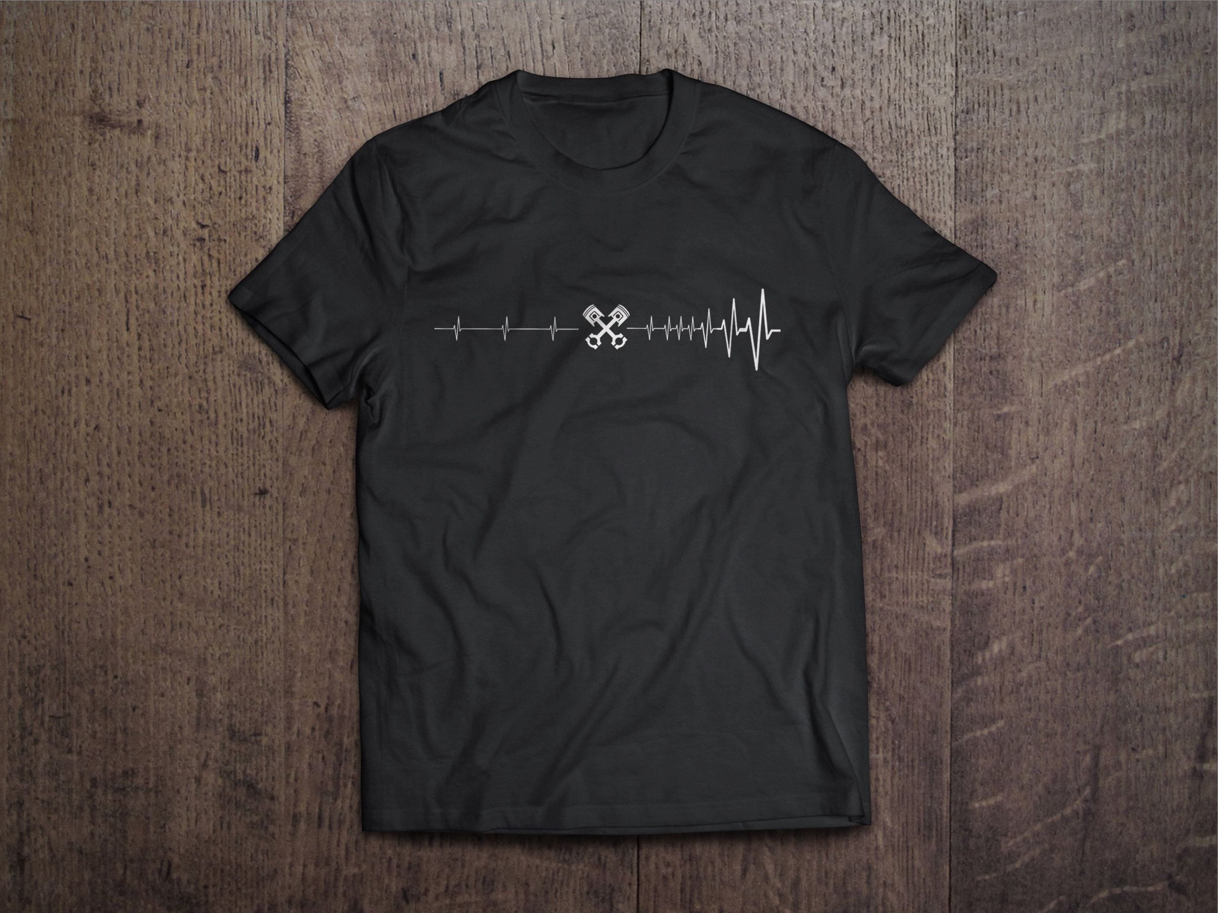 Petrolhead Heartbeat Chest Candy Heartbeat Petrolhead Tshirt