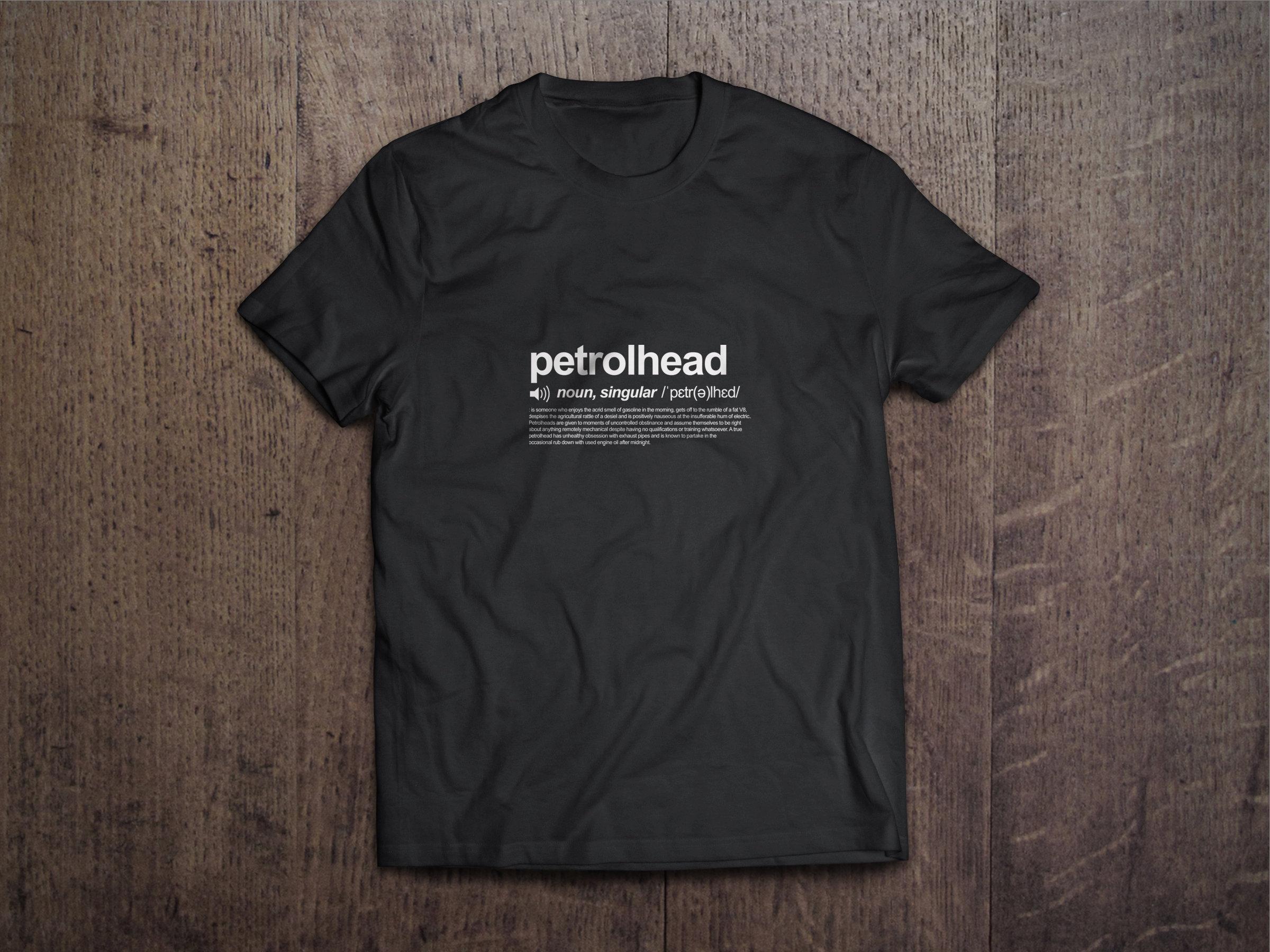 Petrolhead Definition Chest Candy Petrolhead Tshirt