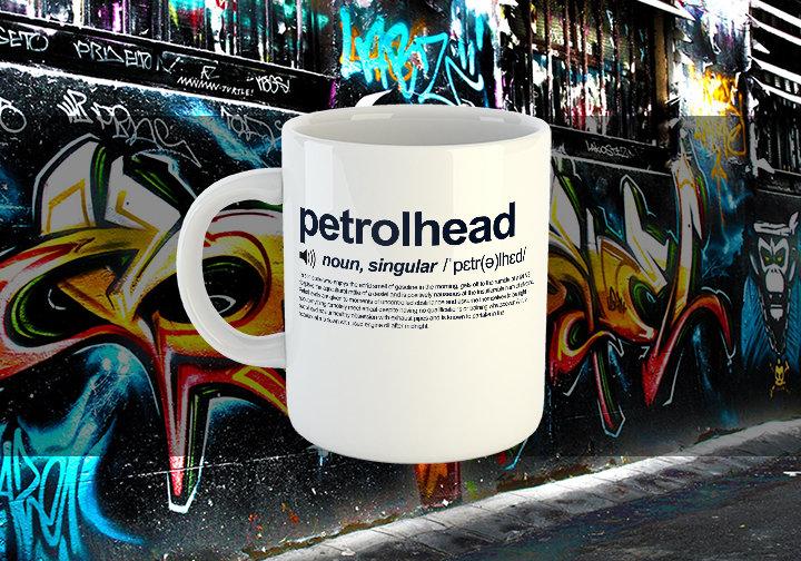 Petrolhead Definition Chest Candy Petrolhead Mug
