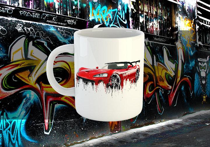 Dodge Viper Liquid Metal Dodge Liquid Metal Viper Mug